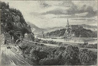 Elbetal bei Tetschen-Bodenbach