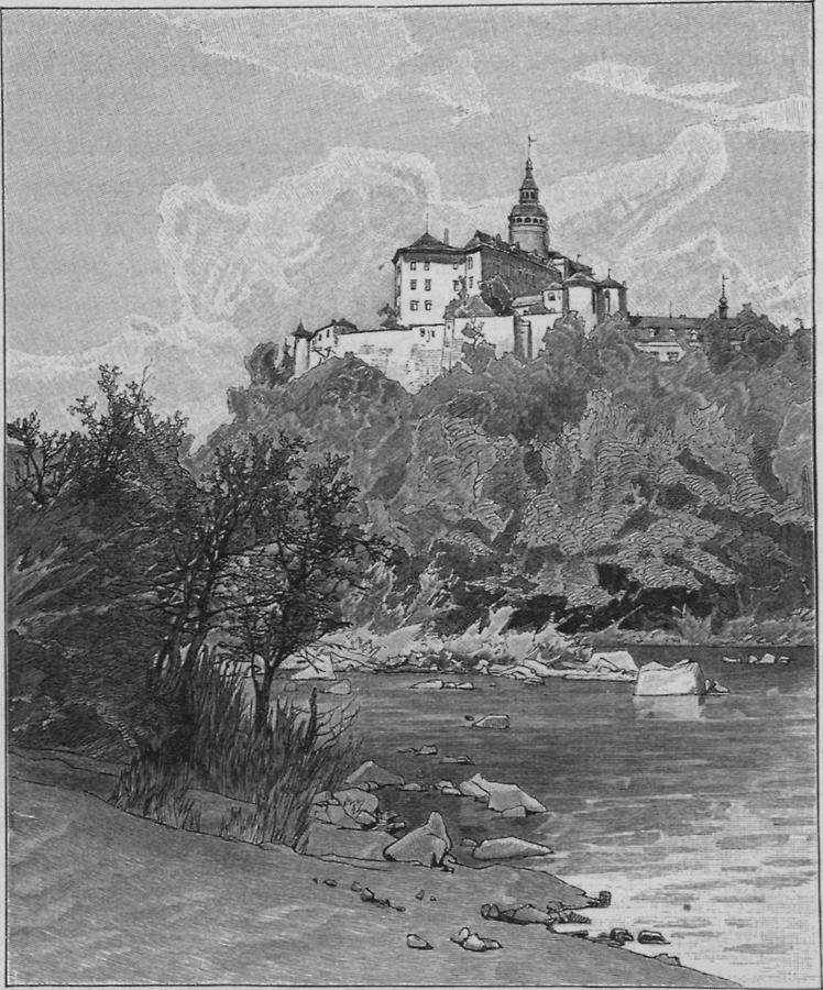 Illustration Schloss Friedland