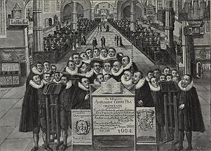 Literaten-Chor in Prachatitz
