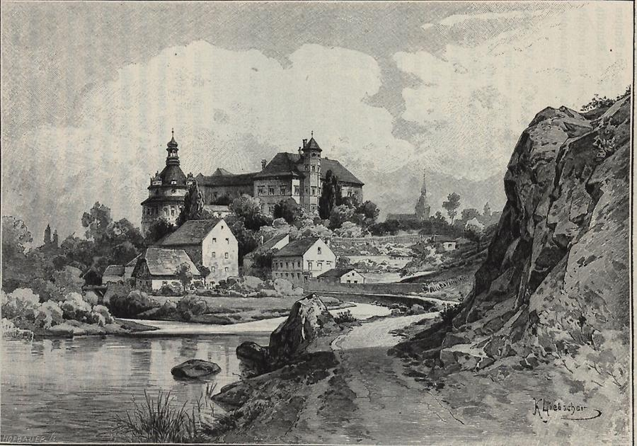Illustration Burg Neuhaus