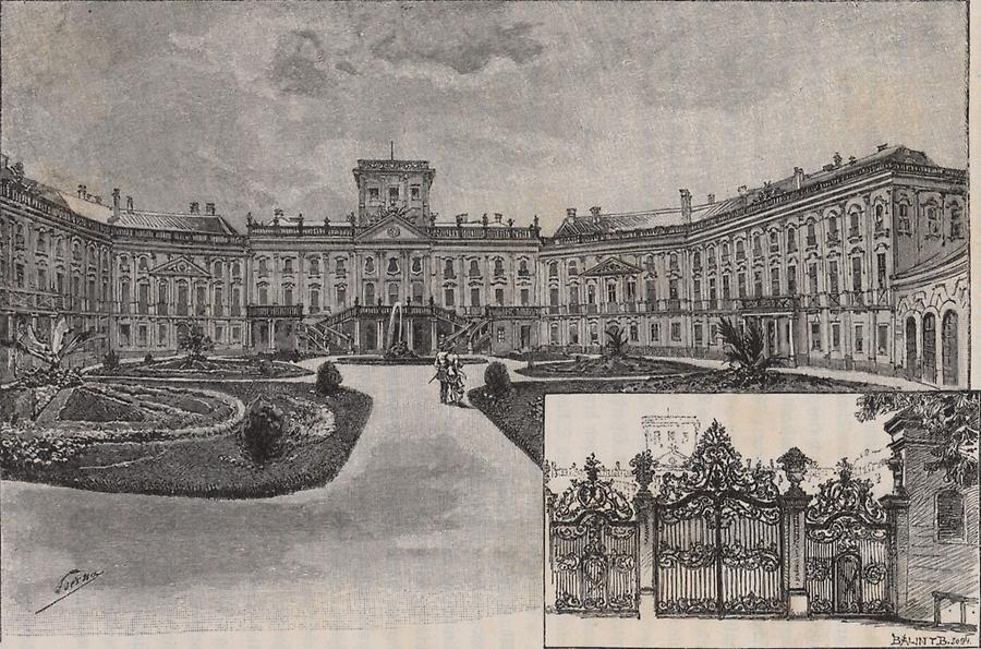 Illustration Schloss Esterhaza