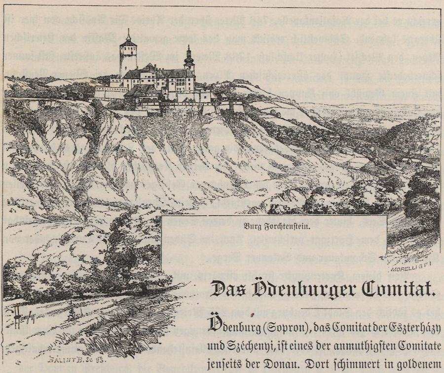 Illustration Burg Forchtenstein