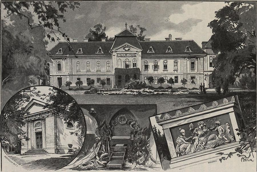 Illustration Schloss Zinkendorf