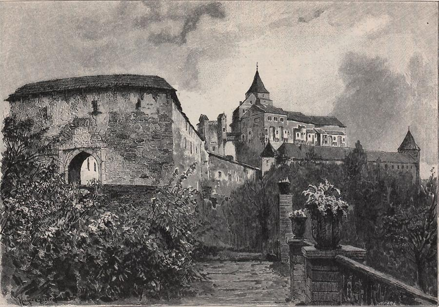 Illustration Burg Pernstein