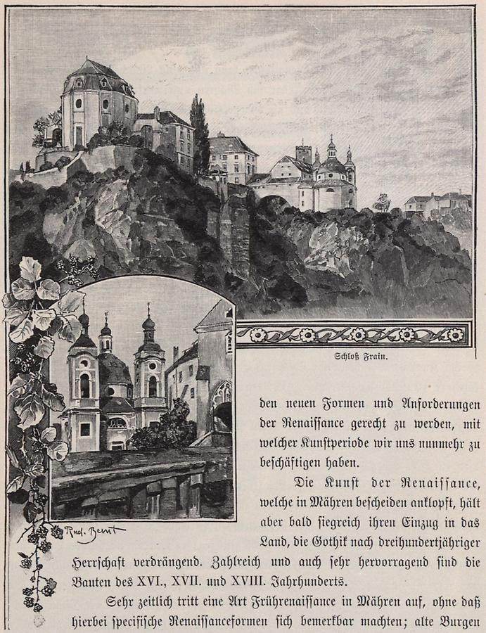 Illustration Schloss Frain