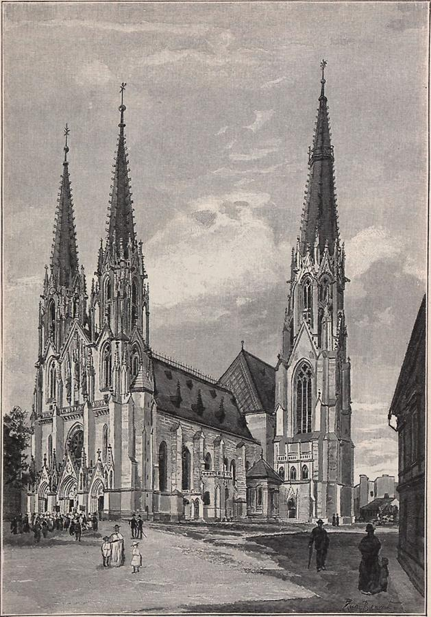 Illustration Dom in Olmütz