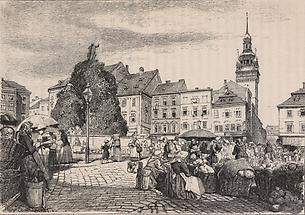Krautmarkt in Brünn
