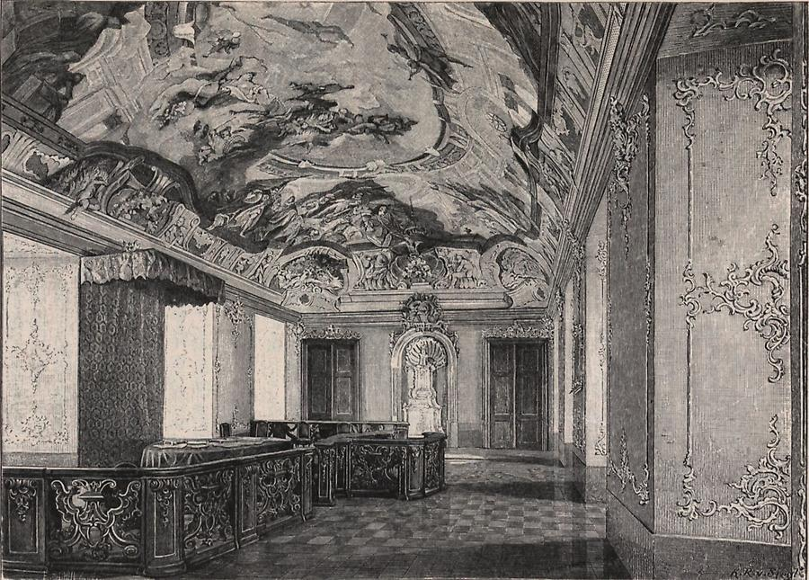 Illustration Residenz zu Kremsier
