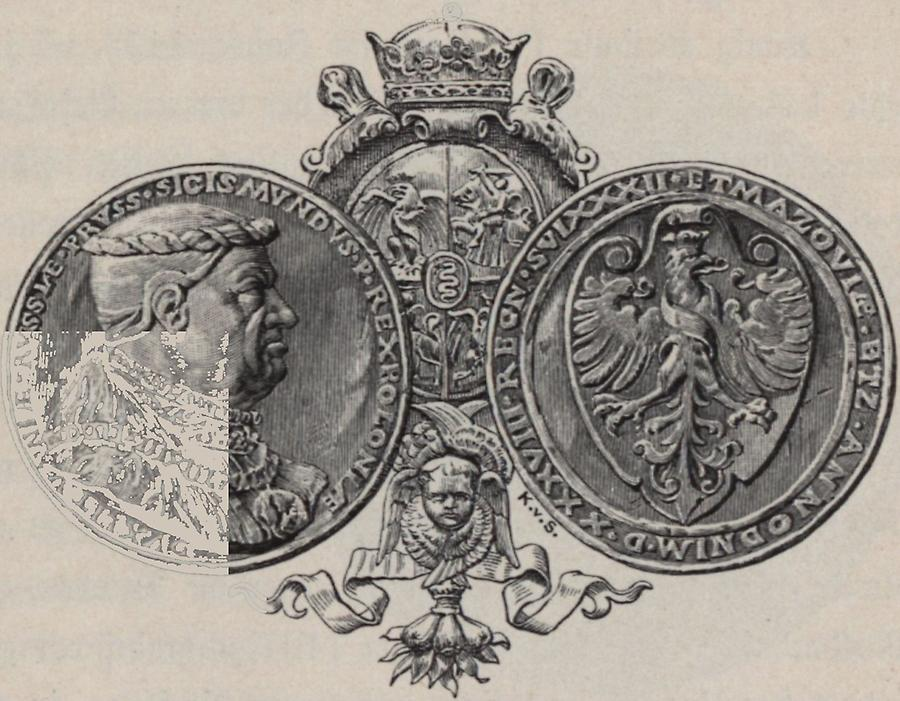 Illustration Medaille Sigismund I.