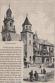 Kathedrale in Krakau