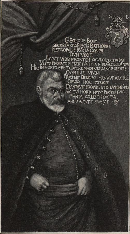 Illustration Stadtkonsul Georg Boim