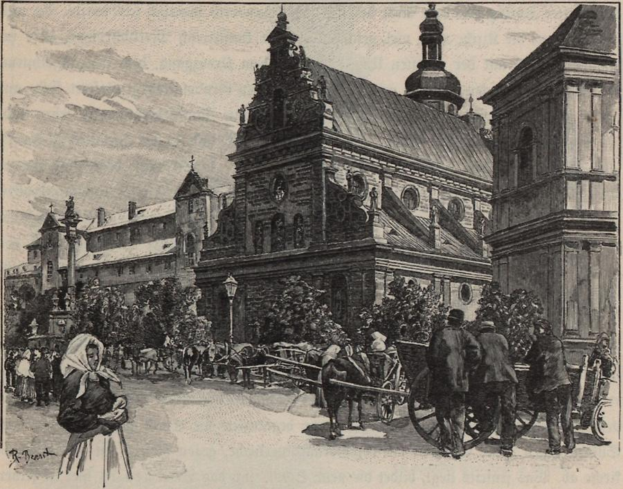 Illustration Bernardinerkirche Lemberg