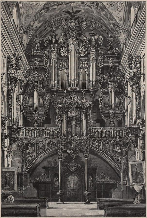Illustration Orgel in Lezaisk