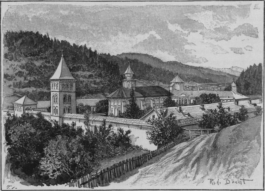 Illustration Kloster Putna