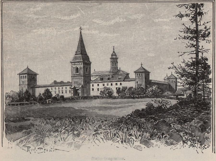 Illustration Kloster Dragomirna