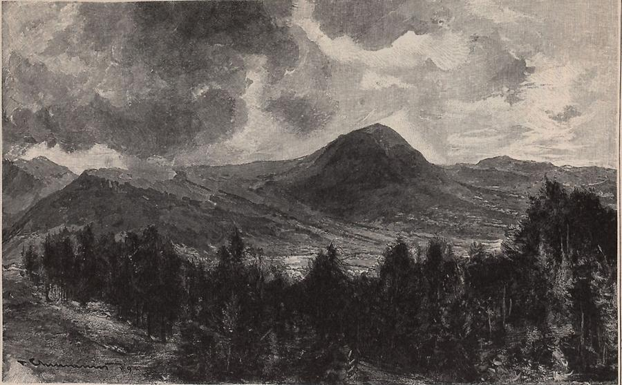 Illustration Bukowiner Gebirge
