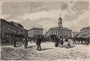Rathausplatz Czernowitz
