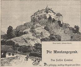 Burg Liptsch (Zolyom-Lipcse)