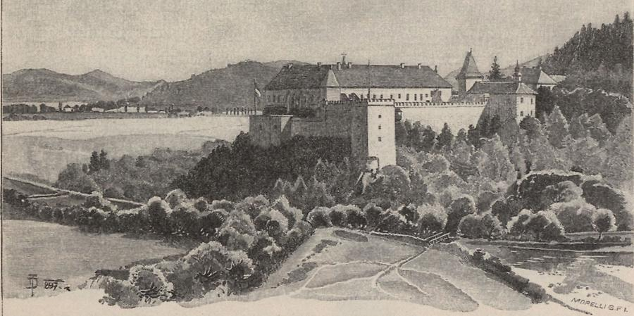 Illustration Schloss zu Vegles