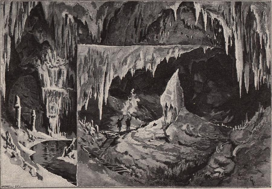 Illustration Tropfsteinhöhle
