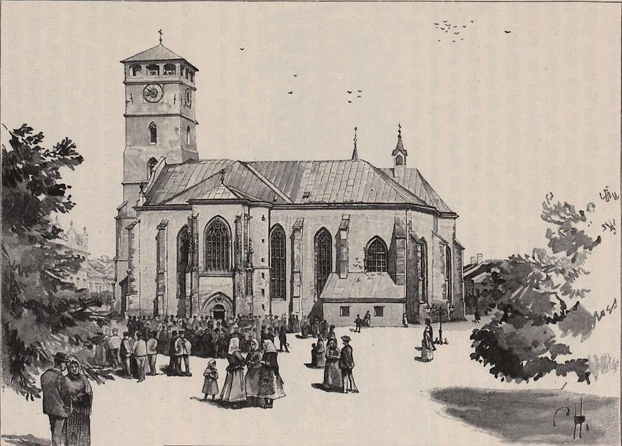 Illustration Domkirche zu Eperjes
