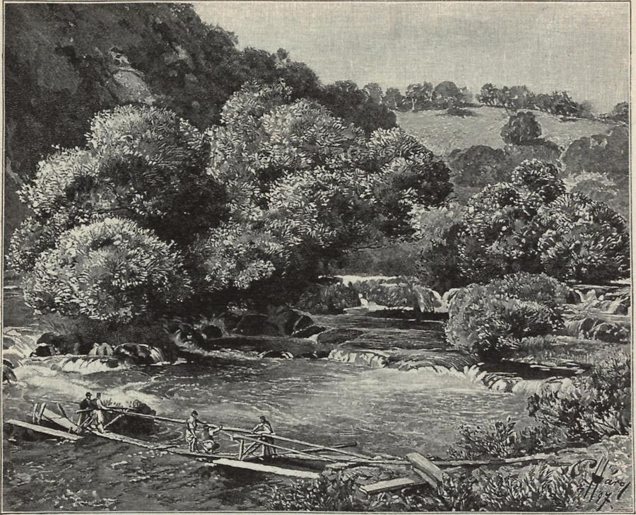 Illustration Katarakte bei Jajce