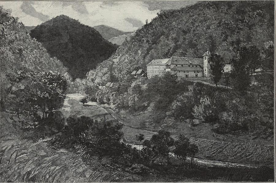 Illustration Kloster Kresevo