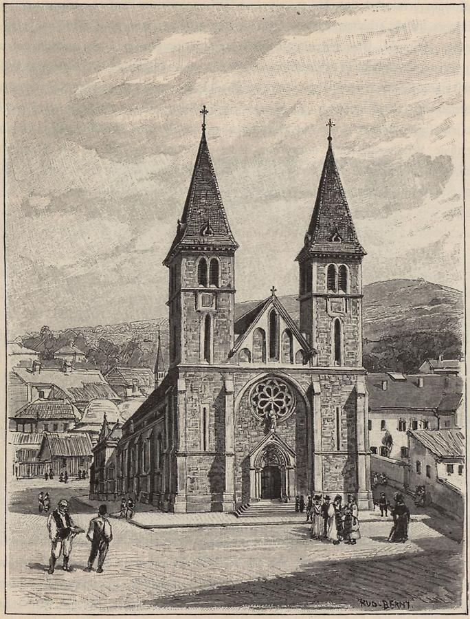 Illustration Kathedrale in Sarajevo