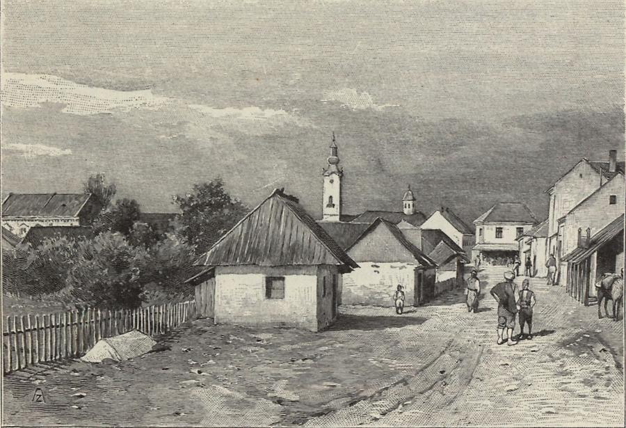Illustration Stadt Bjelina
