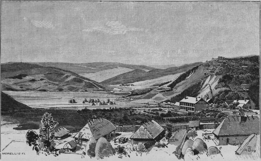 Illustration Mezöseger Landschaft