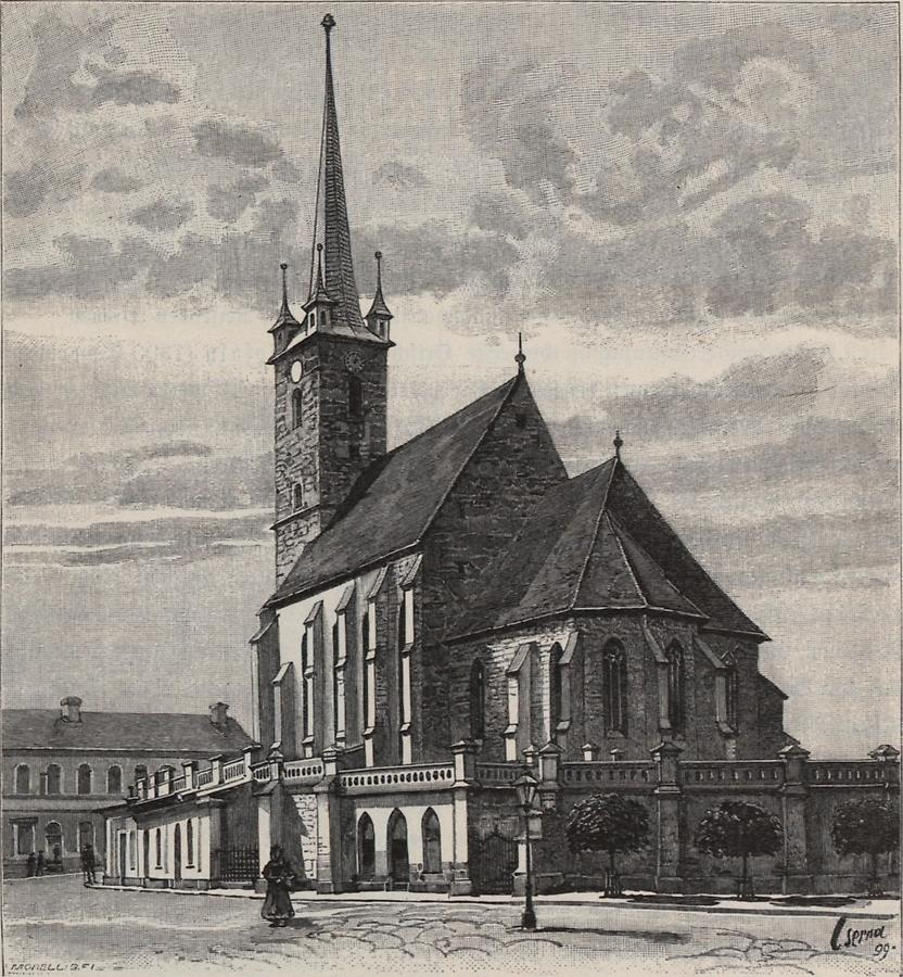 Illustration Reformierte Kirche in Dees
