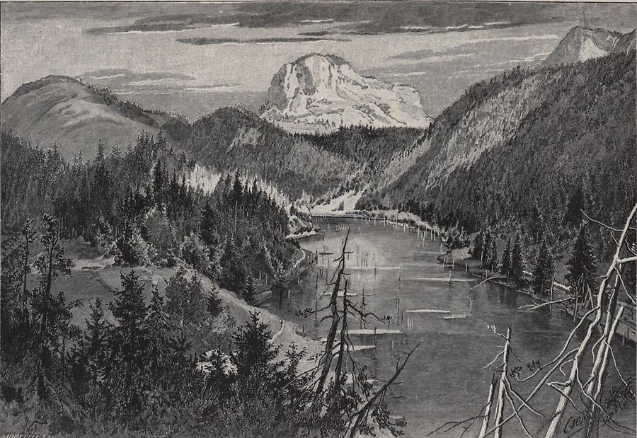 Illustration Kis-Bekaser Pass