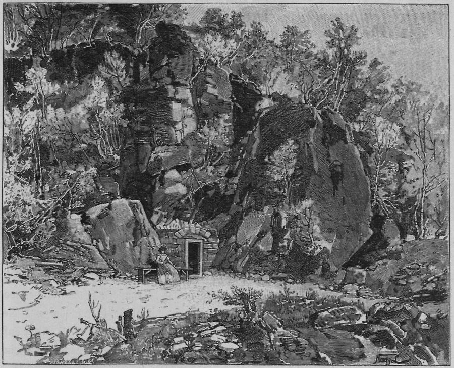 Illustration Büdösgrotte zu Torja