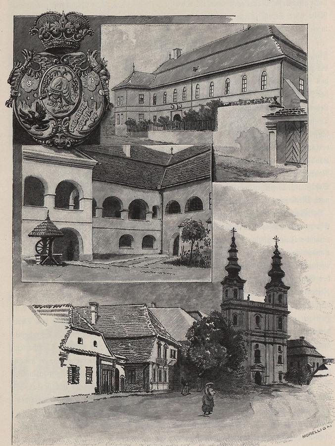 Illustration Apassysches Schloss