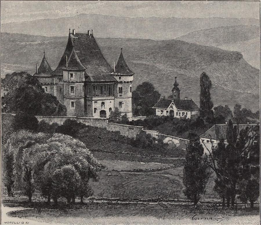 Illustration Kokelburger Schloss