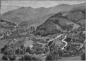 Landschaft Hochlandbezirk