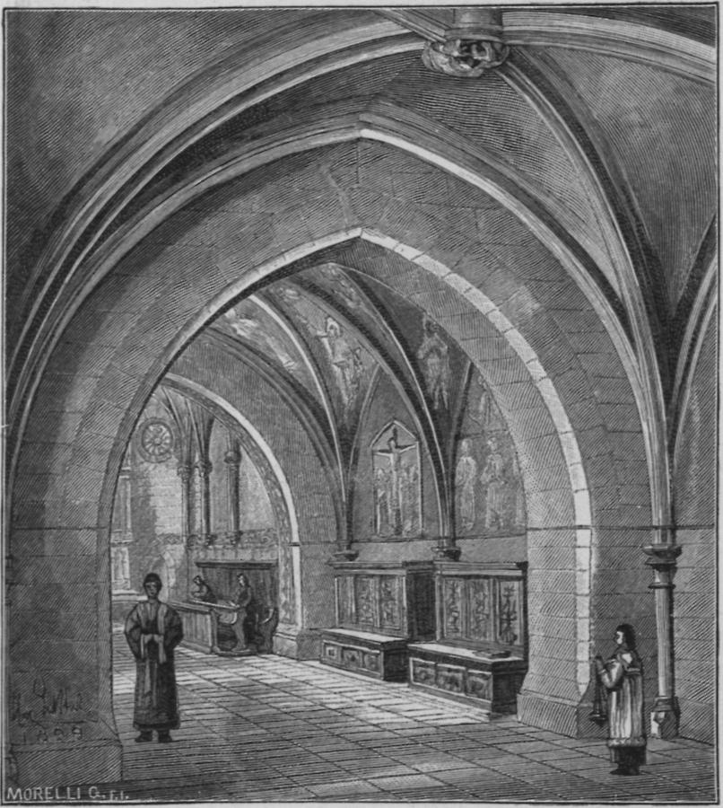 Illustration Sakristei des Domes