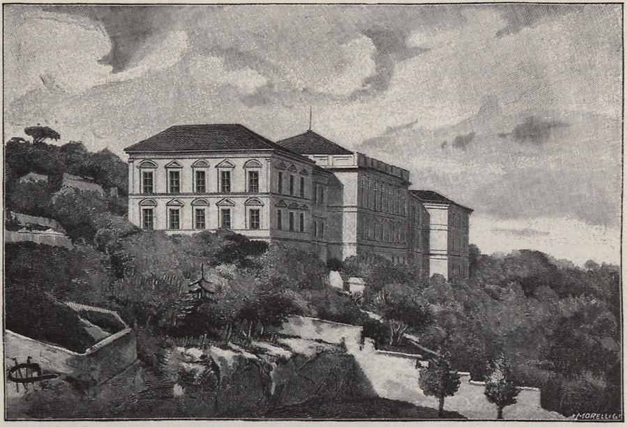 Illustration Gymnasium in Susak