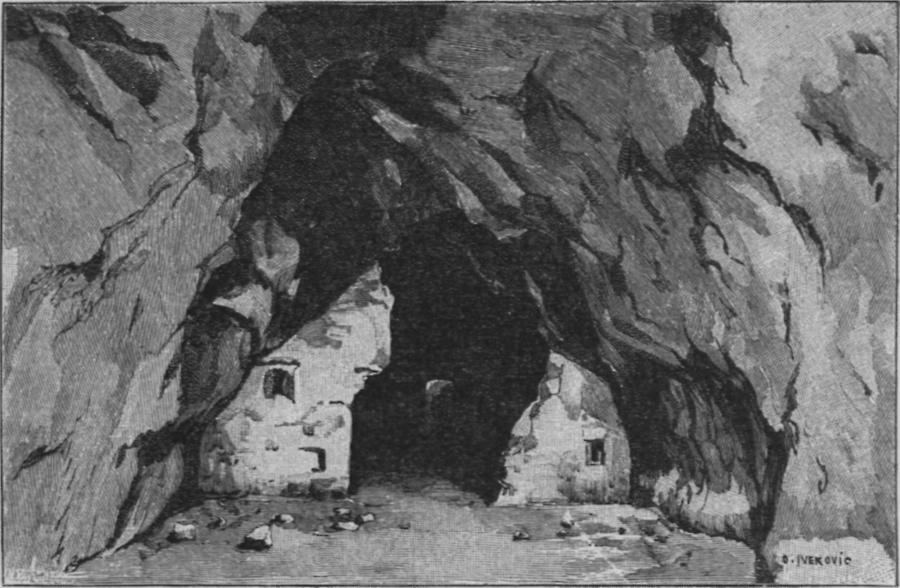 Illustration Krapina-Höhle