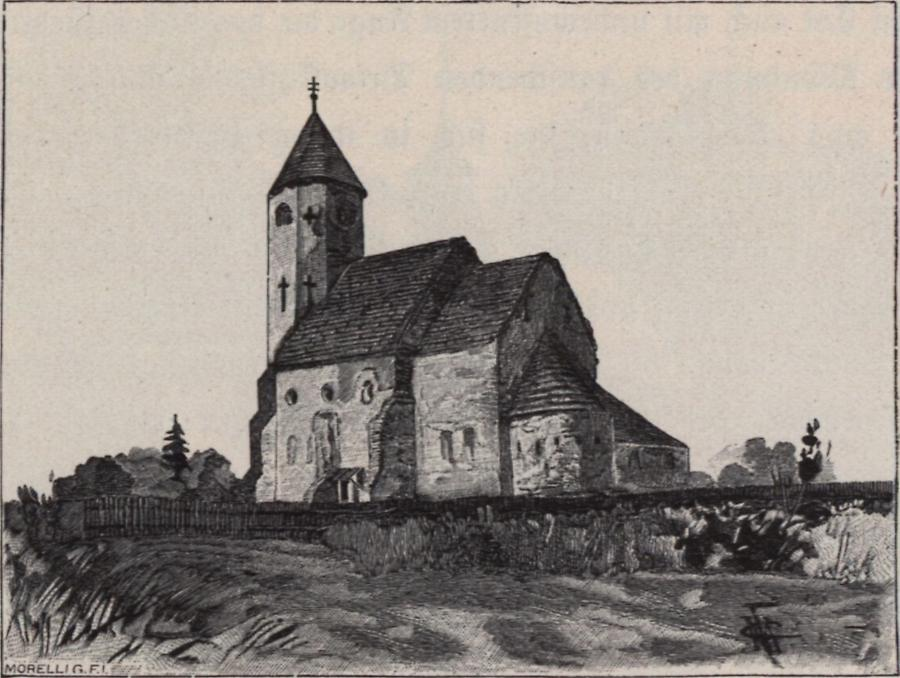 Illustration Alte Kirche in Morovic