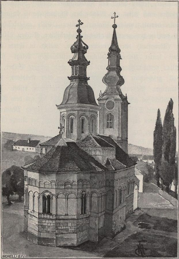 Illustration Kirche in Kamenica
