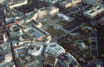 Wien - 1 Bezirk, Heldenplatz