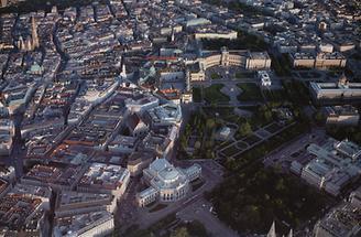 Burgtheater, Neue Hofburg, Hofmuseen, Parlamentsgebäude