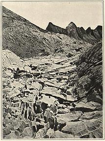 Karrenbildung im Alpenkalk I