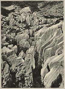 Karrenbildung im Alpenkalk II