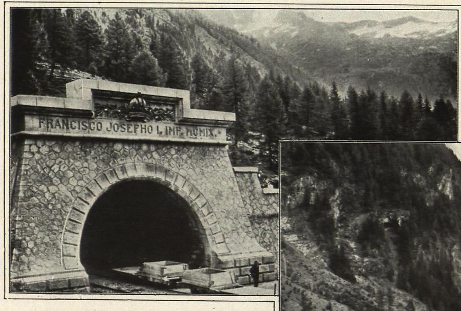 Illustration Tauern-Tunnel Nordportal