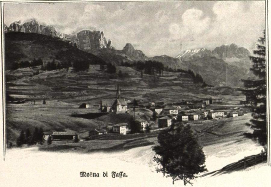 Illustration Moena di Fassa