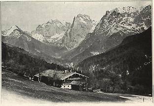 Wilder Kaiser bei Kufstein