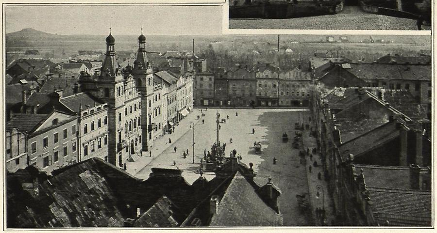 Illustration Pardubitz: Ringplatz