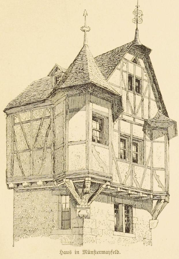 Illustration Haus in Münstermayfeld